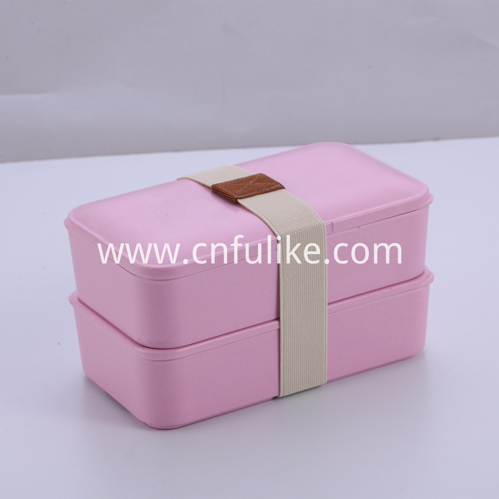Pink Food Container Box
