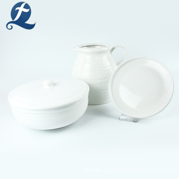 Home Kitchen Ceramic Casserole Ceramic Stew Pot