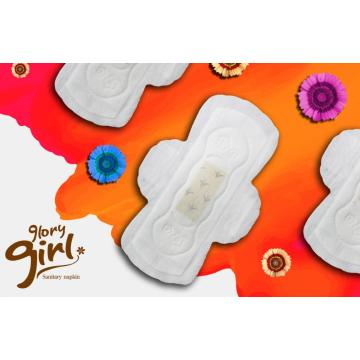 Super soft sanitary napkin with tea polyphenols chip