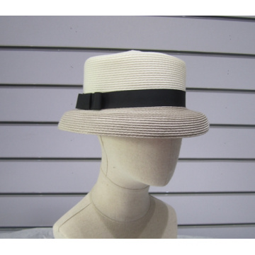 Fine PP Braid Sun Boater Hats