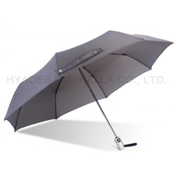 Grey Premium Folding Umbrella