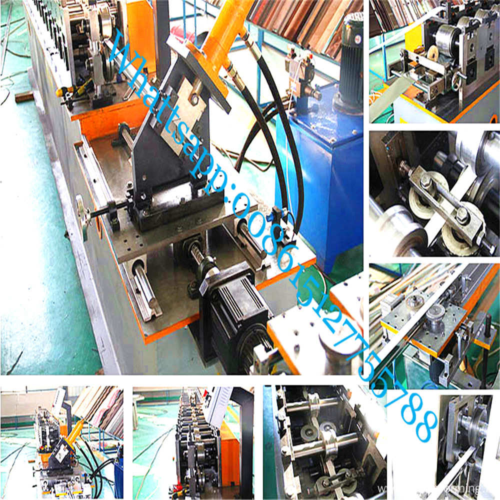 T grid with black line roll forming machine