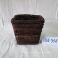 Rectangular Maize Rope Flower Pot