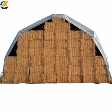 PVC  tarpaulin stocklot for hay cover