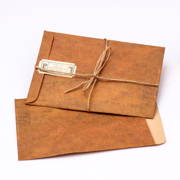 Recycled brown postage bags custom  kraft envelopes