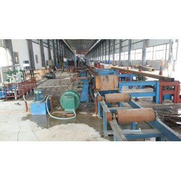 400x400 Square Tube mill with DFT