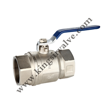 Nickel plating ball valves
