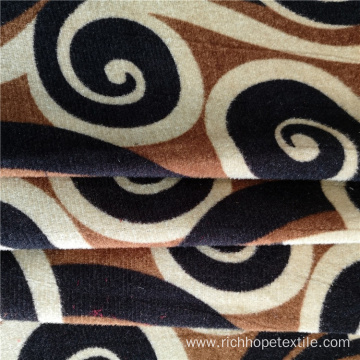Pattern Print Knitted Polyester Fabric For Upholstery