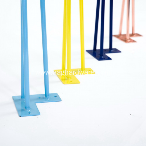 Customized wholesale colorful hairpin legs