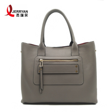 Extra Large Grey Leather Tote Bags Handbag