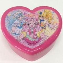 Plastic heart shaped box
