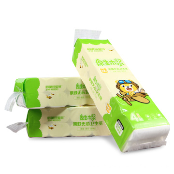 Toilet Use OEM Weight Pulp Paper Towel Roll