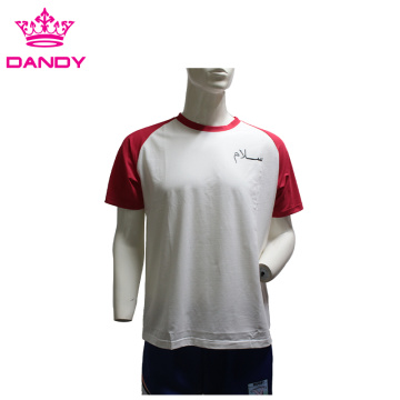 White mens training t shirts