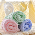 Multicolored Cotton Baby Muslin Washcloths