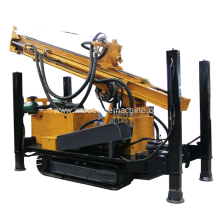 High Efficiency Crawler Water Well Drilling Rig