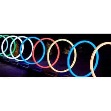 Outdoor Colorful Aperture Lights