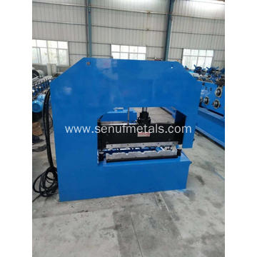 Color steel curving roofing tile making machinery