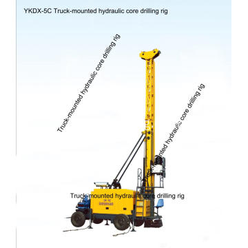 YKDX-5C truck mounted ore mine core drilling Machine