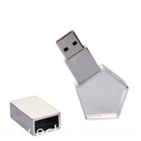 Star Glass USB Stick 8G to 128G