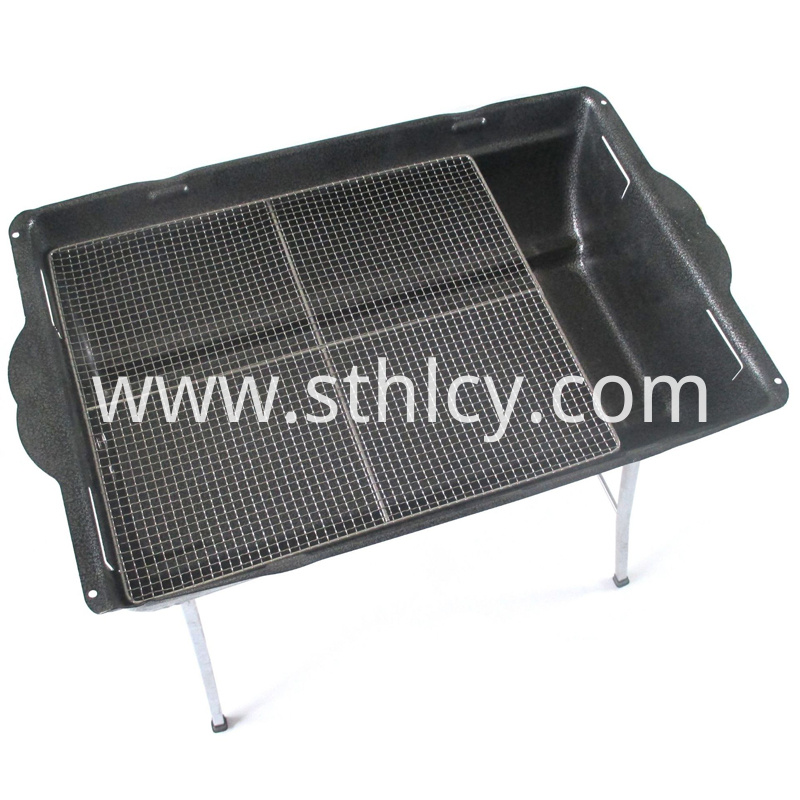 Outdoor barbecue net