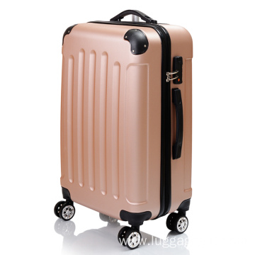 Luggage wholesale abs trolley case bag