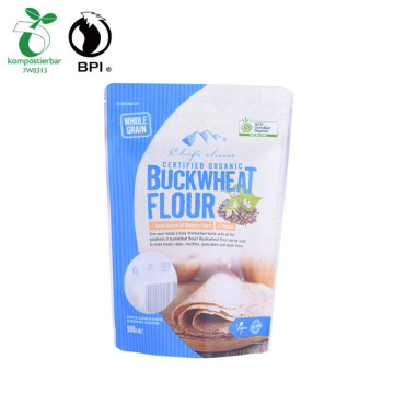 biodegradable retail plastic cookies ziplock stand up pouch packaging bags wholesale