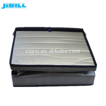 foldable VIP vacuum insulation panel portable cooler box