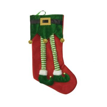 New 2020 felt elf Christmas tree stocking Decoration