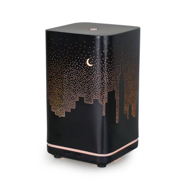 New Business Aroma Diffuser Essential Oil Nawilżacz Metal