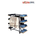 Freestanding Retail Store Clothing Racks