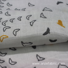 100% Organic Cotton Gauze Fabric for baby blanket