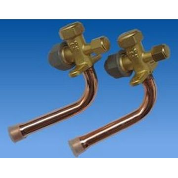Shut-off valve split valve for air conditioner