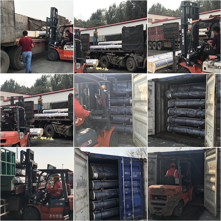 Graphite Electrode shipment