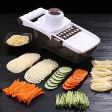 Stainless Steel Vegetable Fruit Slicer Multi-functional ABS Potato Garlic Carrot Grater Manual Kitchen Food Processors