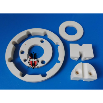 alumina ceramic gear knob precision machining parts