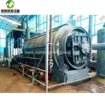 Automatic Pyrolysis Plastic to Oil Plant with CE