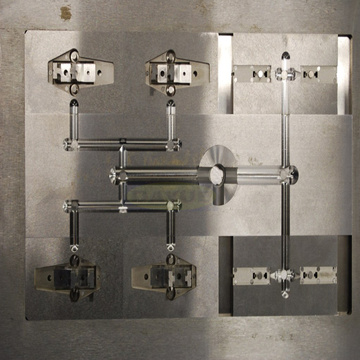 Custom made injection mold cavity and core blocks