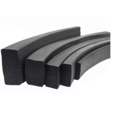 Rubber product silicone epdm nbr foam rubber strip