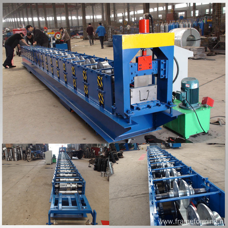 steel water gutter roll forming production line