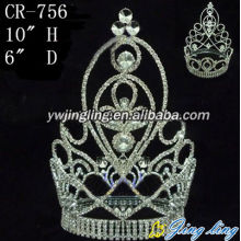 Full Round Pageant Crowns CR-756