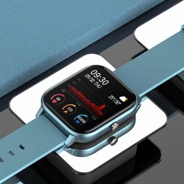 LIGE New P8 Color Screen Smart Watch Women men Full Touch Fitness Tracker Blood Pressure Smart Clock Women Smartwatch for Xiaomi