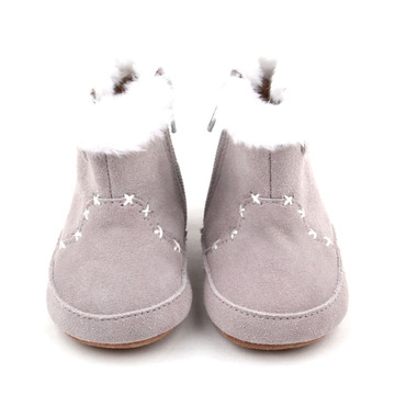 New Genuine Leather Baby Winter Shoes