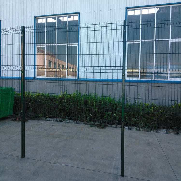 Galvanized PVC 3D Curved Welded Wire Mesh Fence