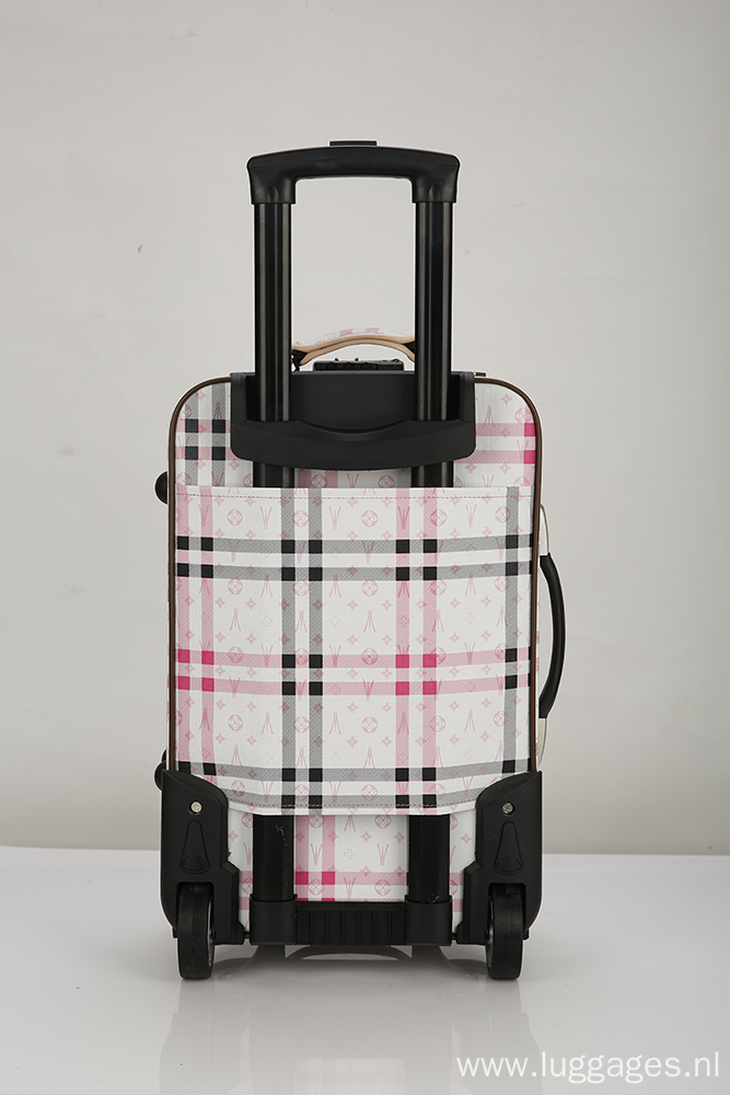 EVA Printed Soft Fabric Suitcase
