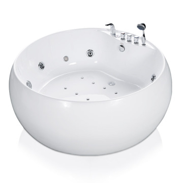 Round Whirlpool Freestanding Bathtub
