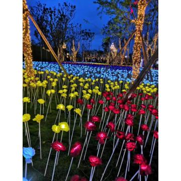 Outdoor Garden Rose Lights