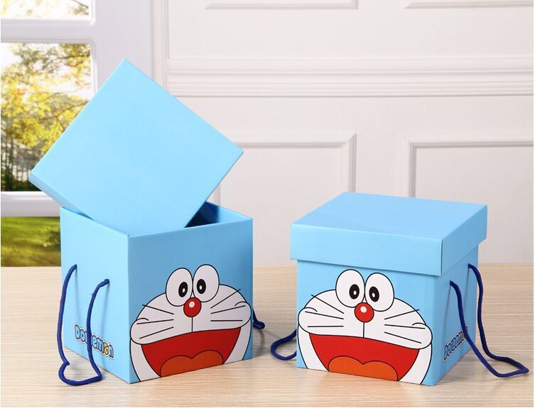 Customized rigid box empty paper gift box