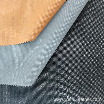 PU Leather with Bright Faillette