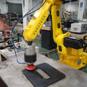 Soundbox grinding sanding industrial robot