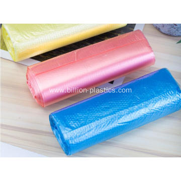 Poly Garbage Bag in Colors